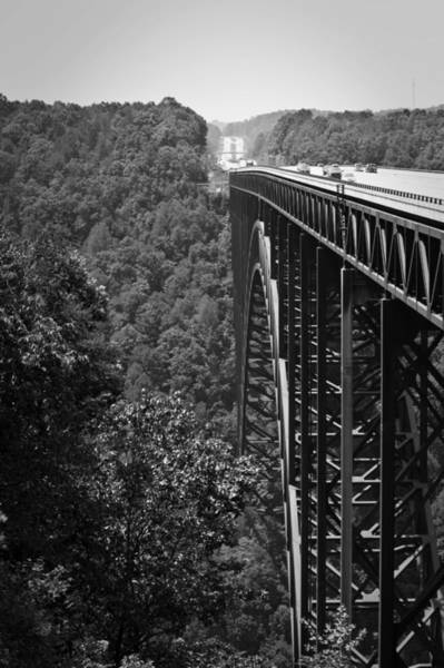 Wall Art - Photograph - New River Gorge Bridge Fayetteville West Virginia by Teresa Mucha
