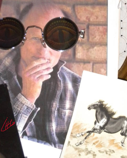 Photograph - New Sunglasses Present For Egypt 2012 Today Baught Speciel For You Ed  From Me by Colette V Hera  Guggenheim