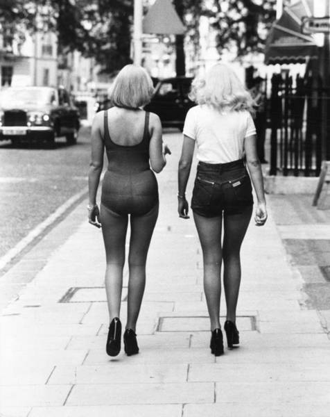 1976 Photograph - New Tights by Jones