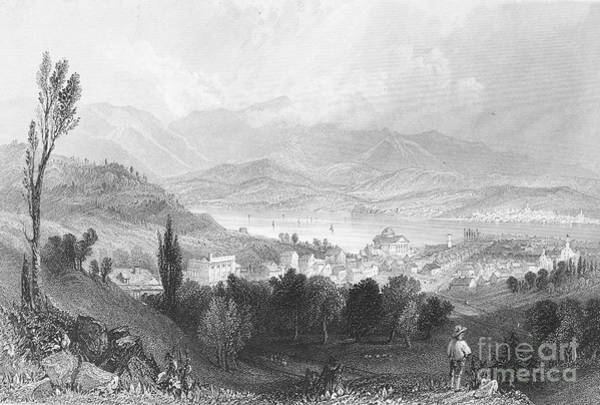 Catskills Photograph - New York: Catskills, 1839 by Granger