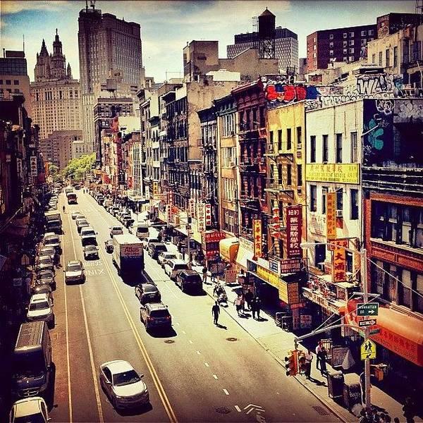 Wall Art - Photograph - New York City's Chinatown by Vivienne Gucwa