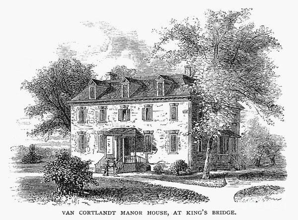 Photograph - New York Mansion, 1748 by Granger