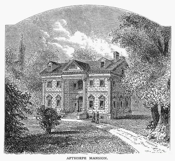 Charles Mansion Photograph - New York: Mansion, 1764 by Granger