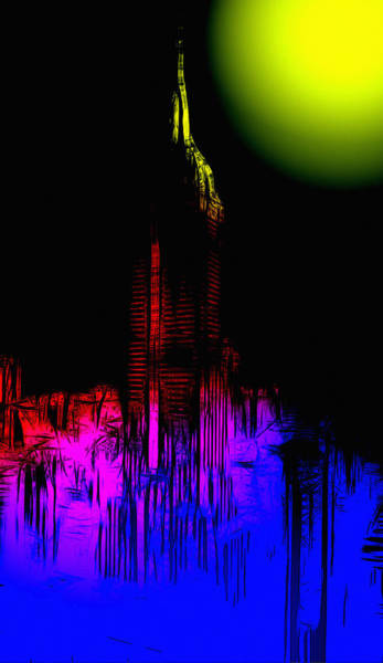 Empire State Building Digital Art - New York Nights by Steve K