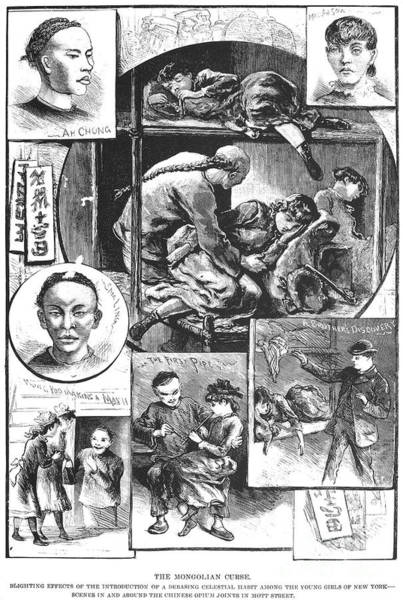 New York: Opium, 1883 Art Print