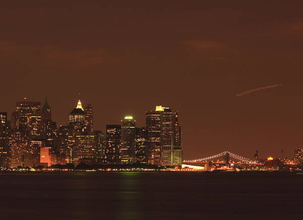 Wall Art - Photograph - New York Skyline by Kim Hojnacki