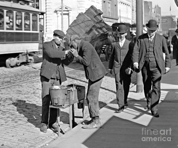 Mens Clothing Wall Art - Photograph - New York Social Layers 1905 by Padre Art