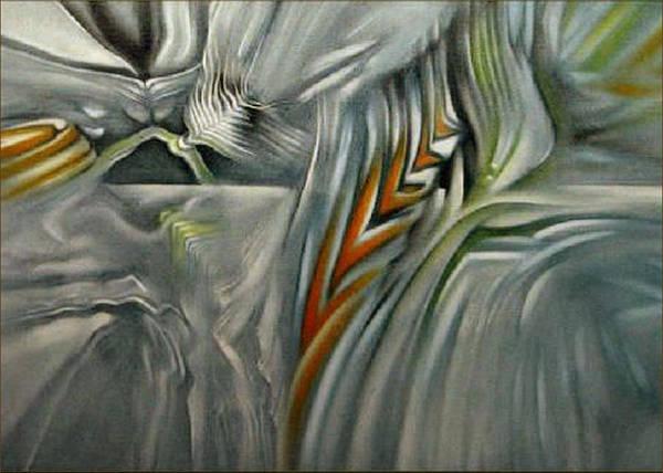 Painting - Newearthflowercomp 2006 by Glenn Bautista