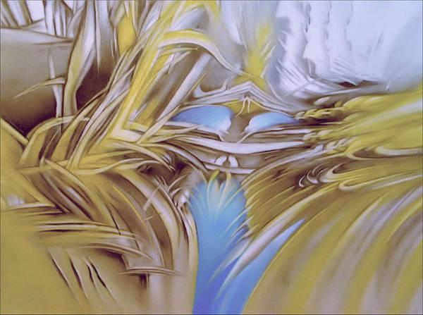 Painting - Newearthflowercomp1g - 2006 by Glenn Bautista
