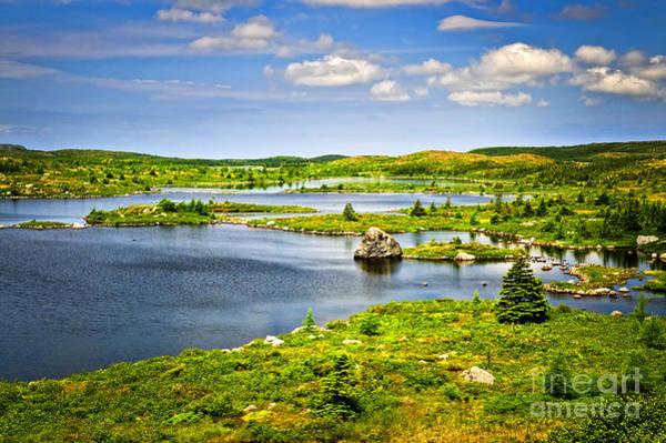 Wall Art - Photograph - Newfoundland Landscape by Elena Elisseeva