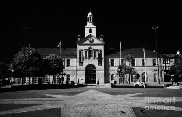 Wall Art - Photograph - Newtownards Town Hall And Conway Square County Down Northern Ireland  by Joe Fox