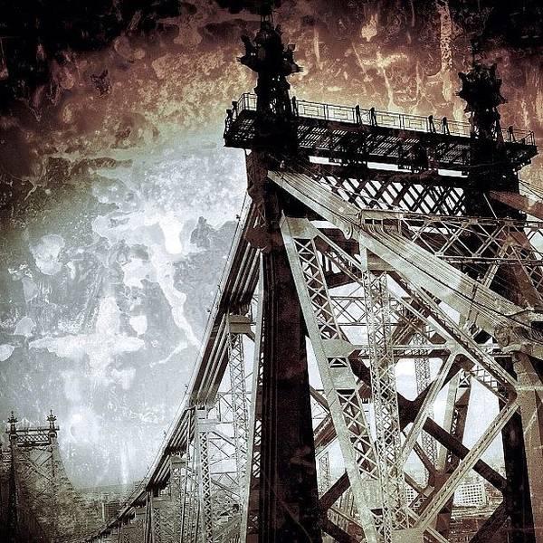 Newyork Wall Art - Photograph - #newyorker #newyork #nyc #ny #bridge by Joel Lopez