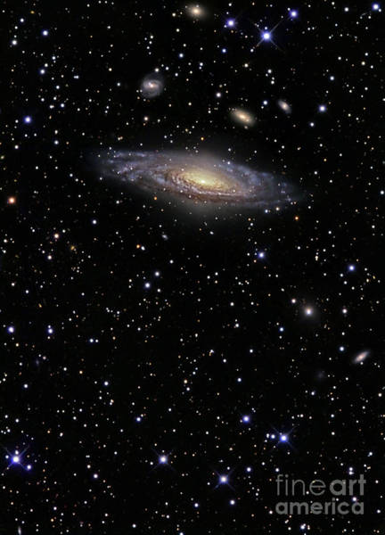 Photograph - Ngc 7331 Is A Spiral Galaxy by R Jay GaBany