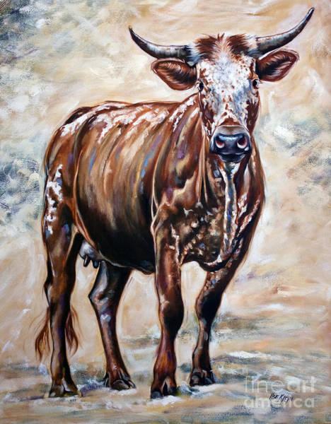 Wall Art - Painting - Nguni 3 by Ilse Kleyn