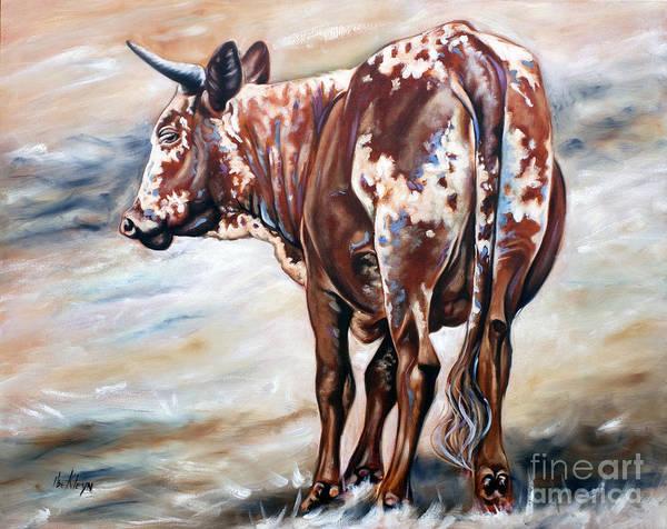 Wall Art - Painting - Nguni 4 by Ilse Kleyn