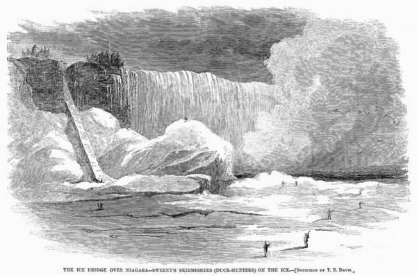 Photograph - Niagara Falls, 1866 by Granger