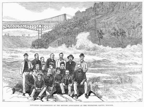 Membership Photograph - Niagara Falls, 1884 by Granger