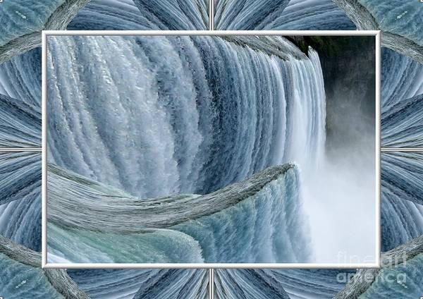 Photograph - Niagara Falls Abstract Warp by Rose Santuci-Sofranko