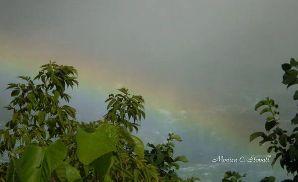 Photograph - Niagara Falls Collection - Rainbow - Canadian View by Monica C Stovall