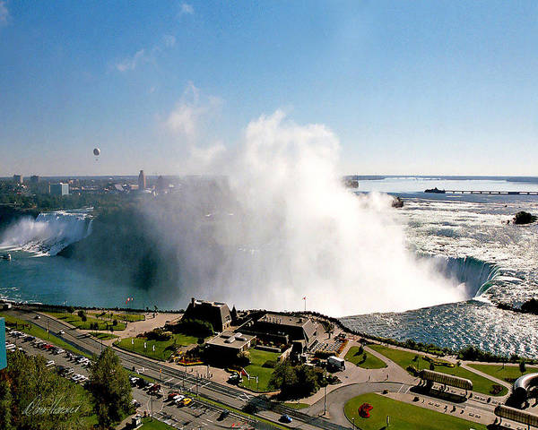 Photograph - Niagara Falls From Above by Diana Haronis
