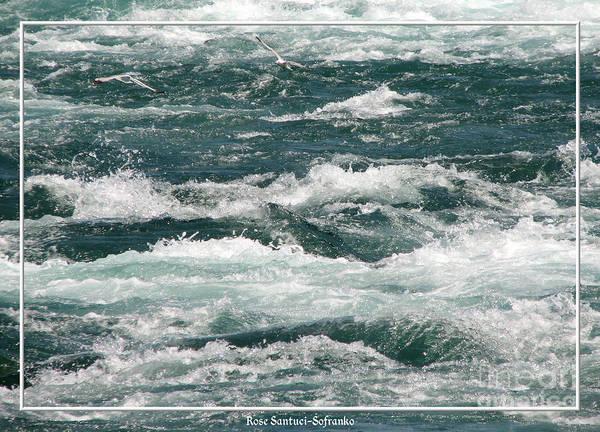 Photograph - Niagara River Rapids 2 by Rose Santuci-Sofranko