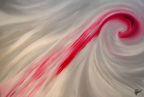 Painting - Nibbles by Cyryn Fyrcyd