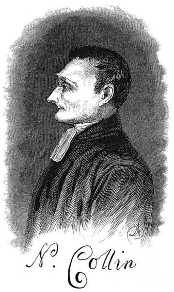 Collin Photograph - Nicholas Collin (1746-1831) by Granger