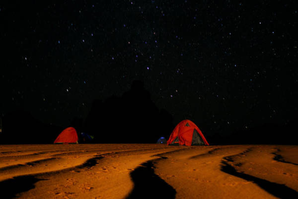 Photograph - Night Camp by Ivan Slosar