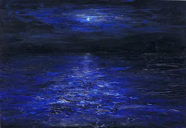Painting - Night Crossing by Regina Valluzzi