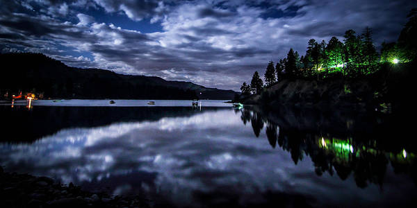 Wall Art - Photograph - Night Reflections by Chris Multop