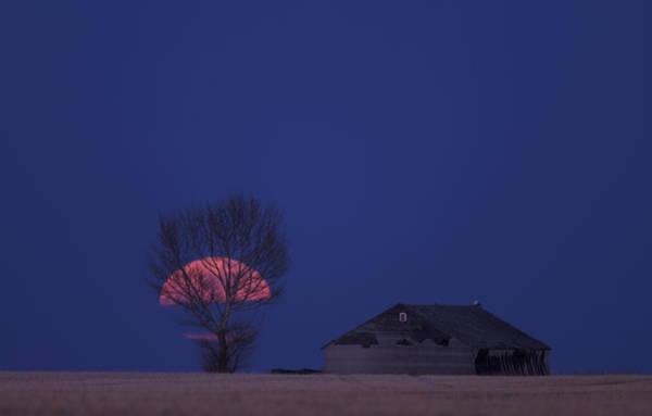 Wall Art - Photograph - Night Shot Saskatchewan Canada by Mark Duffy