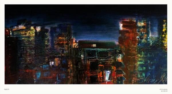 Mumbai Painting - Night Vi  by Natalya  Bhasin