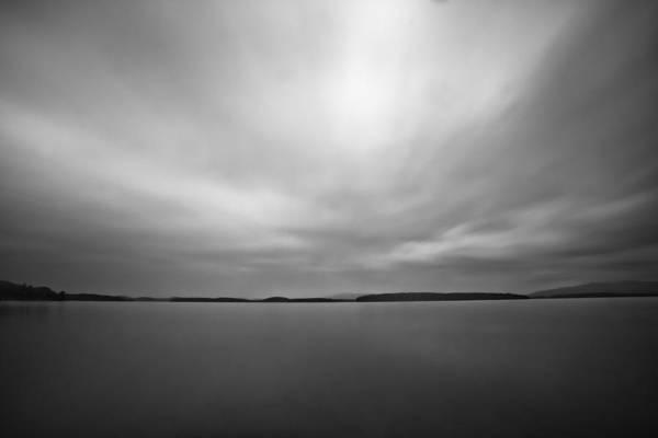Photograph - Nightfall On The Lake by Robert Clifford