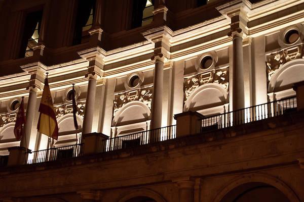 Photograph - Nighttime Palace by Lorraine Devon Wilke