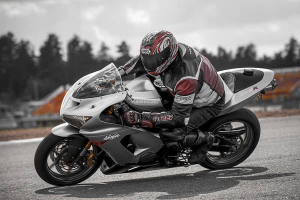 Photograph - Ninja On The Track by Ari Salmela