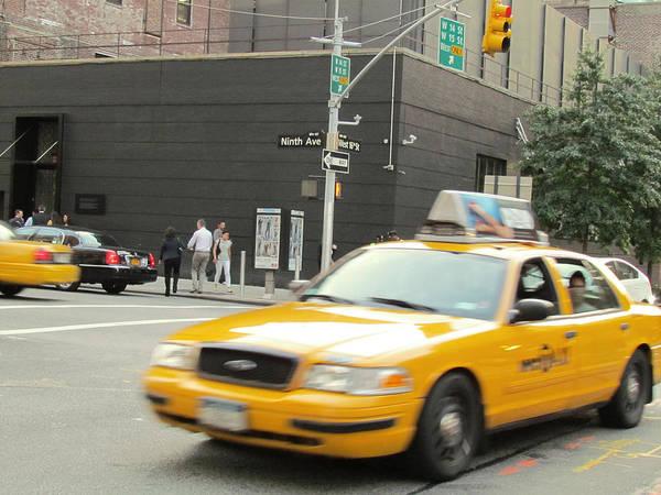 Unisex Photograph - Ninth Avenue In New York City Us  by Yuki Komura