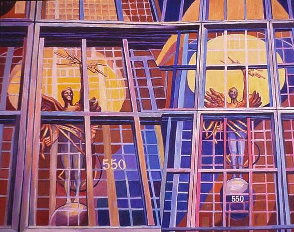 Painting - Ninth In Att Series by Nancy Wait
