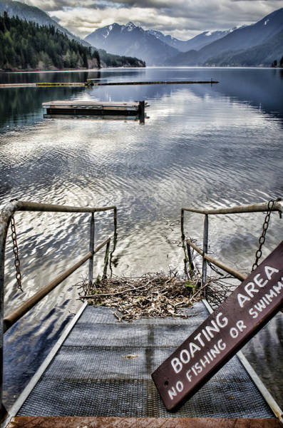 Photograph - No Fishing by Heather Applegate