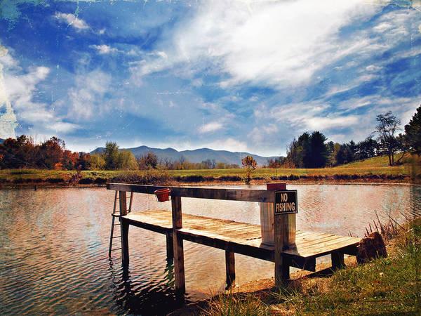 Rockbridge County Photograph - No Fishing by Kathy Jennings