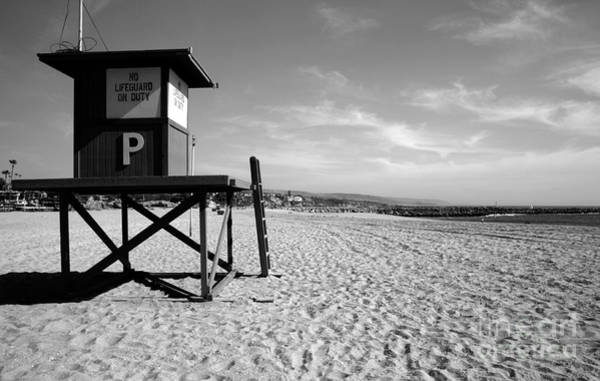 Lifeguard Digital Art - No Lifeguard by Nicholas Burningham