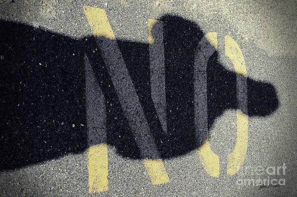Wall Art - Photograph - NO by Luke Moore