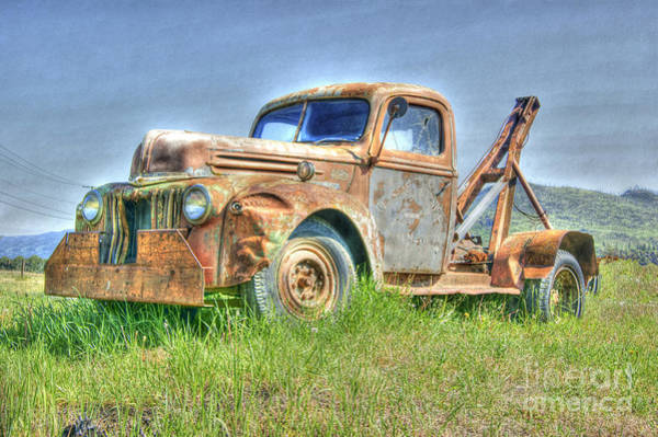 Photograph - Retired Old Timer by David Birchall