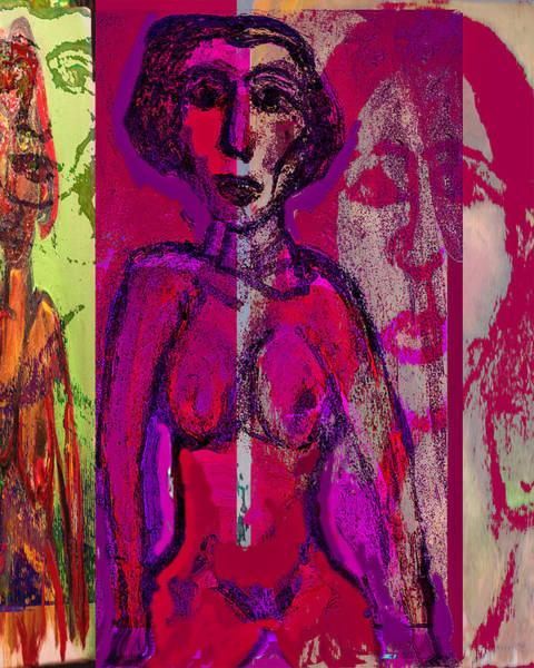Wall Art - Mixed Media - No Place To Sleep by Noredin Morgan