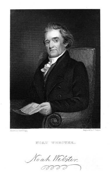 Jared Wall Art - Photograph - Noah Webster (1758-1843) by Granger