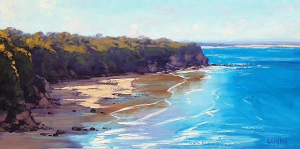 Sand Dune Painting - Norah Head Australia by Graham Gercken