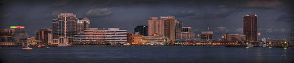 Photograph - Norfolk Waterfront Color by Williams-Cairns Photography LLC