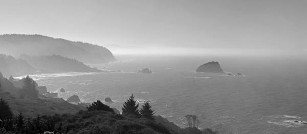 Northern California Photograph - North California Coast In Black And White by Twenty Two North Photography