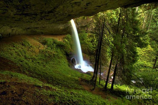 Photograph - North Falls Cavern by Adam Jewell