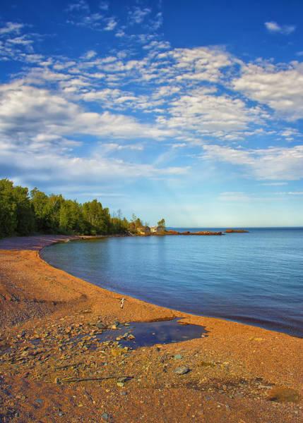 Northern Minnesota Wall Art - Photograph - North Shore Beach by Bill Tiepelman