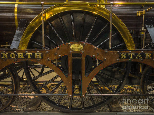 Photograph - North Star Steam Train by Clare Bambers
